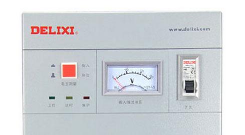 德力西稳压器电压显示表