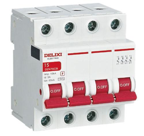 德力西DZ47SCB和CDYNSCB系列电涌保护器专用保护装置上市的通知