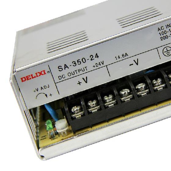 德力西开关电源480w sa-480w-24v/20a 德力西led监控电源 led灯箱电源