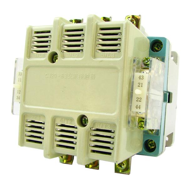 德力西交流接触器cj20-63a/线圈电压36v/220v/380v 德力西正宗交流