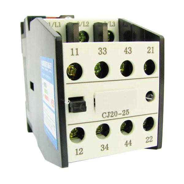德力西交流接触器cj20-25a/线圈电压36v/220v/380v