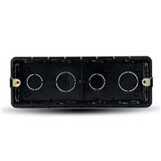 德力西118型暗盒黑色尺寸195