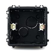 德力西86型暗盒黑色